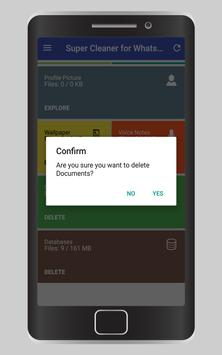Super Cleaner for WhatsApp apk screenshot