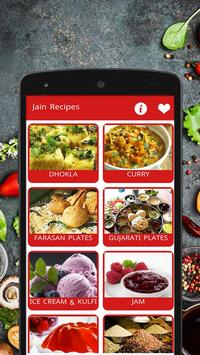 Jain Recipes Offline poster