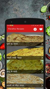 Paratha Recipes Hindi Offline poster