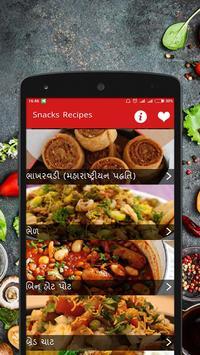 Snacks Recipes In Gujarati poster