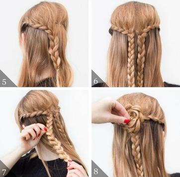 Braided Hairstyle Tutorials screenshot 1