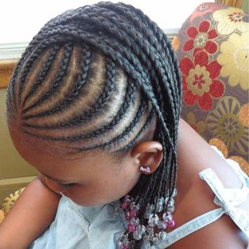 Braid hairstyle for black girl screenshot 5