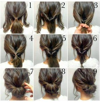 Braids Hairstyle (Step by Step) screenshot 2