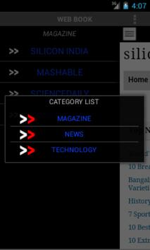 Web Book apk screenshot