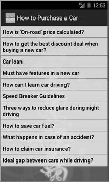 How to Purchase a Car screenshot 7