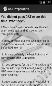 CAT Preparation Tips screenshot 5