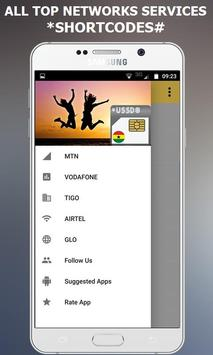 Ghana USSD Codes Dialer - All Networks screenshot 1