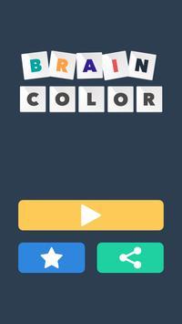 Brain Color poster