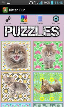 Kitten Games for Girls - Free screenshot 1