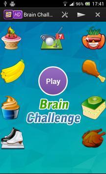 Brain Challenge poster