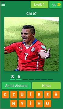Jeu Devine le Footballeur poster