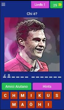 Quiz Calcio Giocatori poster