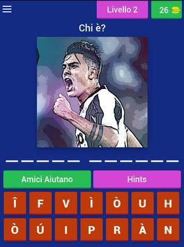 Quiz Calcio Giocatori screenshot 12