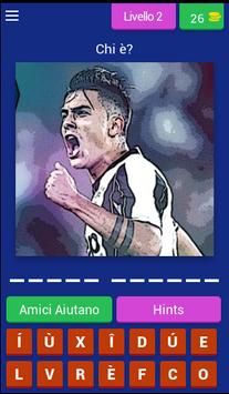 Quiz Calcio Giocatori screenshot 2