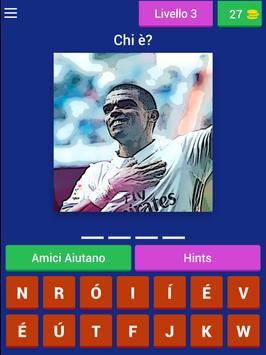 Quiz Calcio Giocatori screenshot 8
