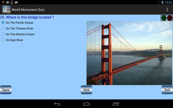 World Monument Quiz apk screenshot