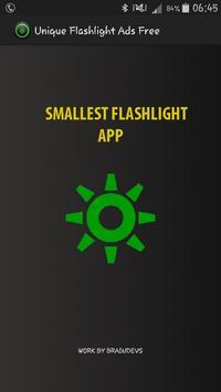 Unique Flashlight Ads Free screenshot 1