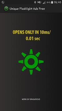 Unique Flashlight Ads Free screenshot 2