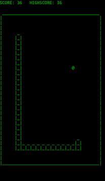 ASCII Snake screenshot 1