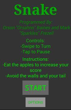 ASCII Snake screenshot 2