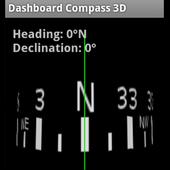 Dashboard Compass 3D icon