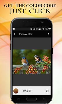 Live Photo Color Picker Camera - Color Code Reader poster