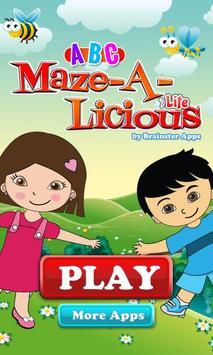 ABC Mazealicious Lite poster