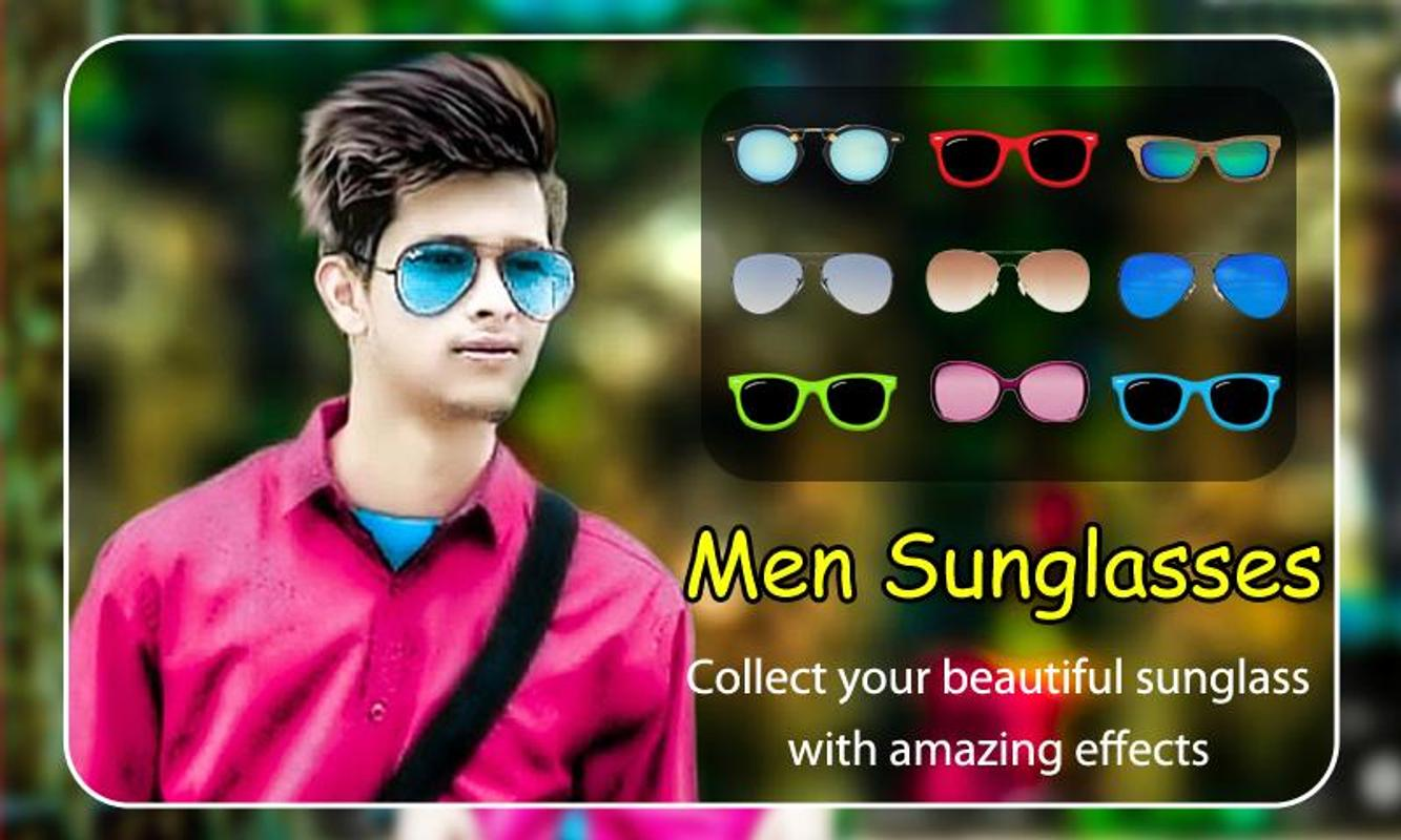 d62b97a8707 Men Sunglasses Photo Editor for Android - APK Download