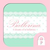 Ballerina diary Protector icon