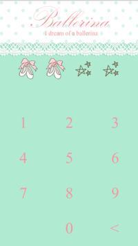 Ballerina diary Protector apk screenshot