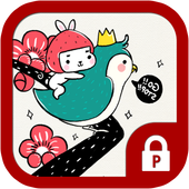 Apricot blossom with Togoon icon