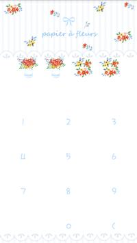 Flower paper protector theme screenshot 2