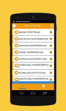 Free Android Ringtones - 2015 apk screenshot