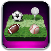 Merged ball - dominoes puzzle sports style icon