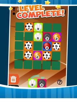 Merged ball - dominoes puzzle sports style apk screenshot