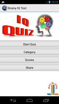 Brainy IQ Test poster