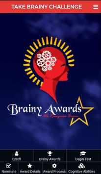 Brainy Awards poster