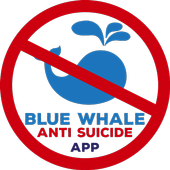 Bluewhale Antisuicide App icon