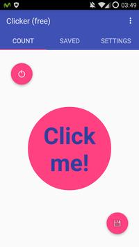 Click Counter Clicker (Free) poster