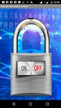 Anti Theft Alarm With Password apk screenshot