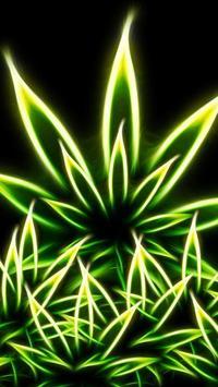Marijuana water effect LWP poster