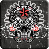 Mexican Skulls water effect icon