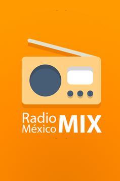 Radio México Mix poster