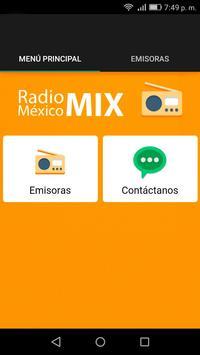 Radio México Mix screenshot 1