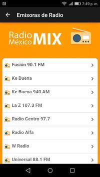 Radio México Mix screenshot 2