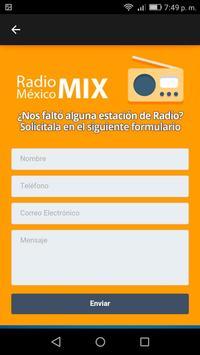 Radio México Mix screenshot 3