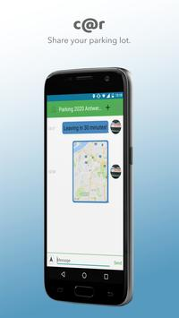 Connect handsfree with drivers around you. screenshot 3