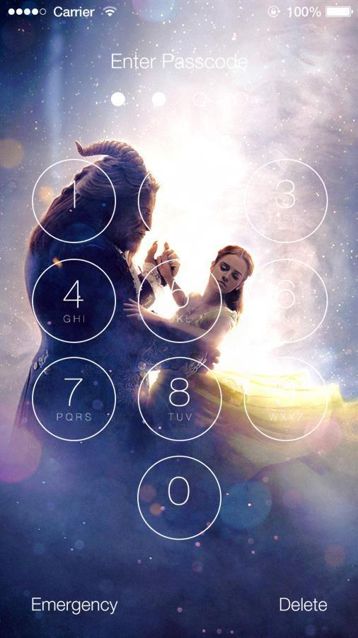 Beauty And The Beast Hd Wallpaper Lock Screen For Android