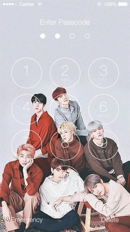 Bts Hd Wallpaper Lock Screen For Android Apk Download