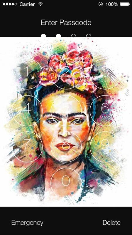 ... Frida Kahlo HD Wallpaper Lock Screen screenshot 5 ...